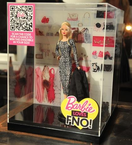"""Barbie Loves FNO"" Rogan doll"