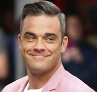 Robbie Williams&#39; baby arrived early