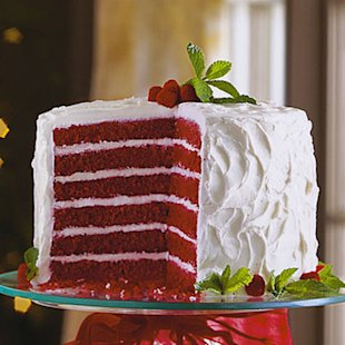Chocolate-Red Velvet Layer Cake