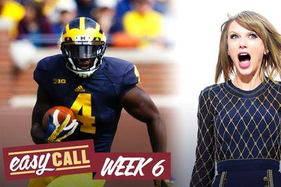 Easy Call: The Taylor Swift guide to Week 6 college football picks