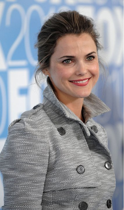 "Keri Russell (""Running Wilde"") attends the 2010 Fox Upfront after party at Wollman Rink, Central Park on May 17, 2010 in New York City."