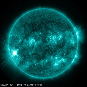 Major Solar Flare Erupts From the Sun