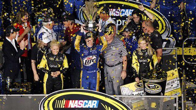 NASCAR Sprint Cup champion Brad Keselowski makes history