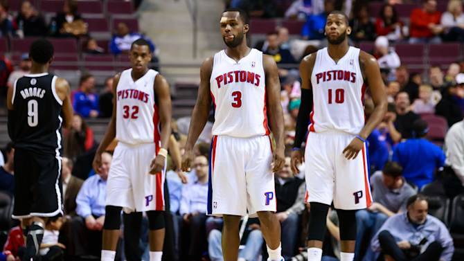 NBA: Brooklyn Nets at Detroit Pistons