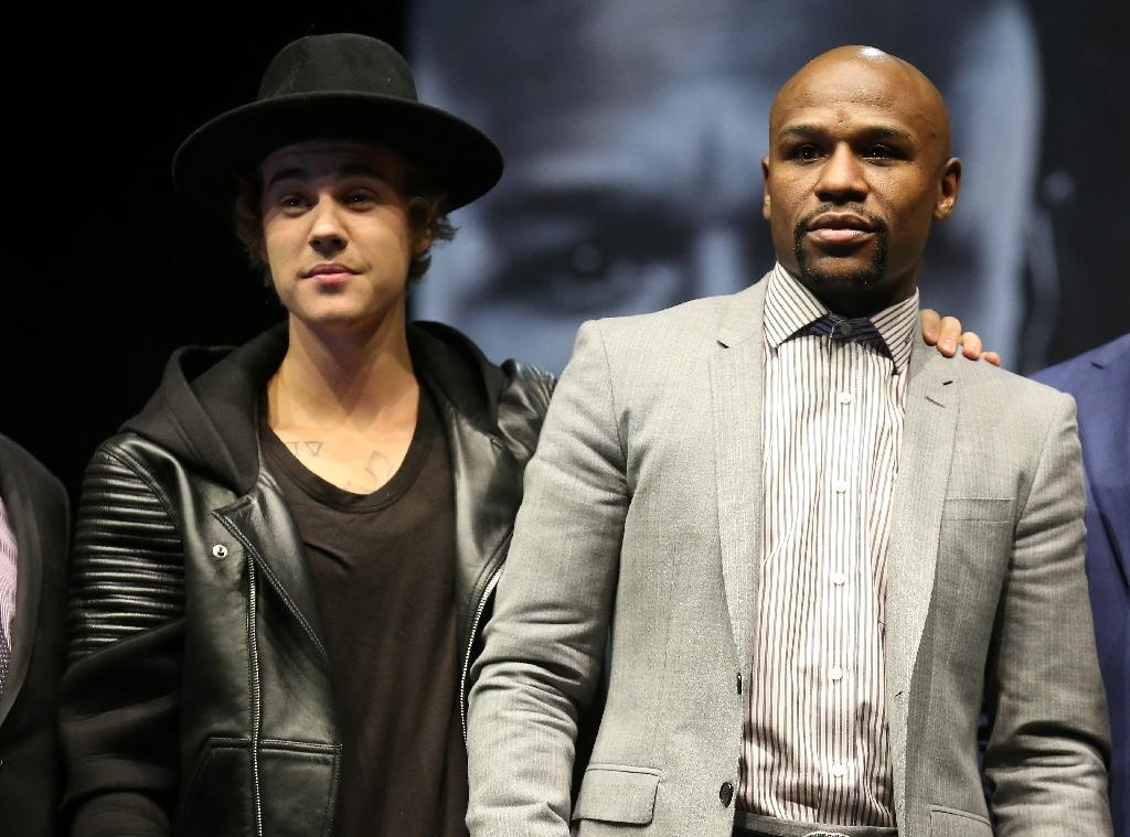Bieber set for Mayweather's ring walk