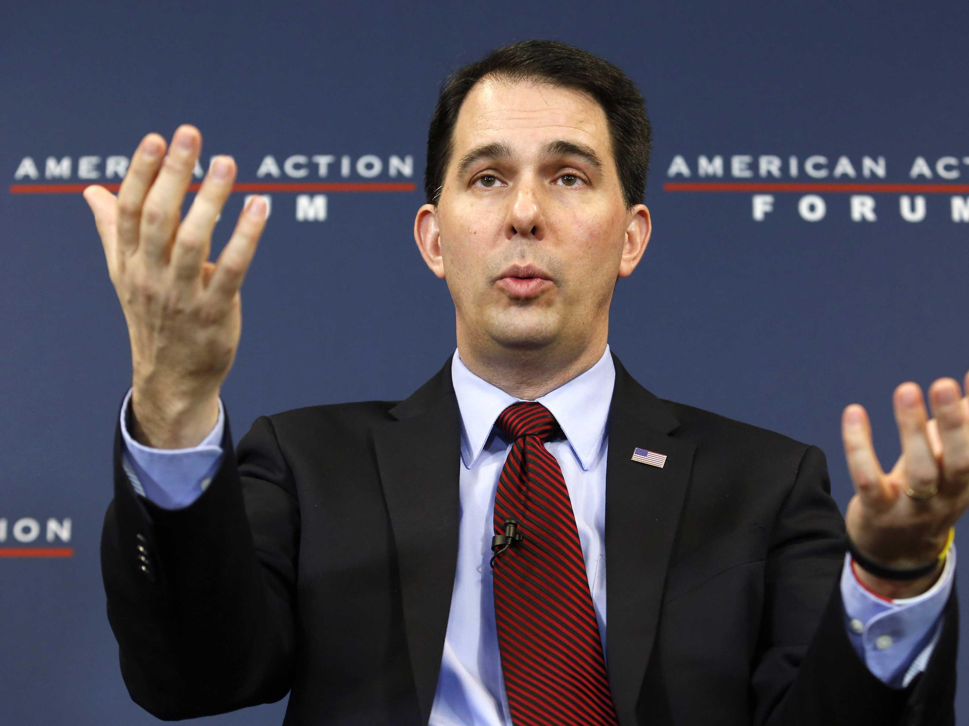 REPORT: Scott Walker flipped his immigration position again