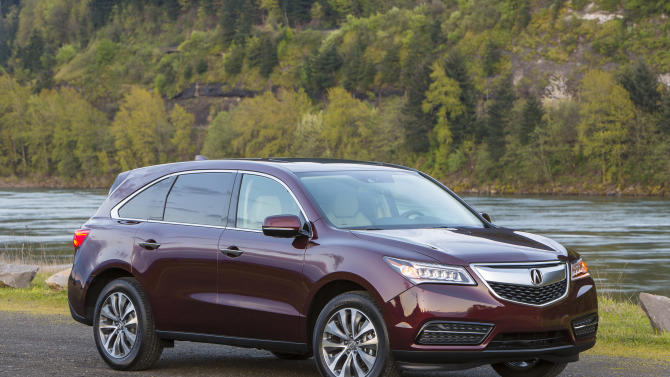 Acura refines its largest SUV, the MDX