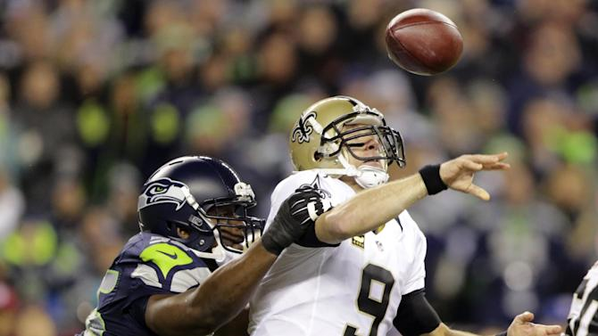 Saints, Seahawks clash in NFC divisional playoff