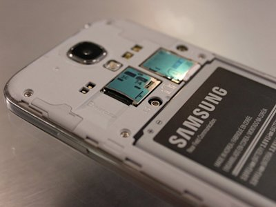 samsung galaxy s4 sd card slot
