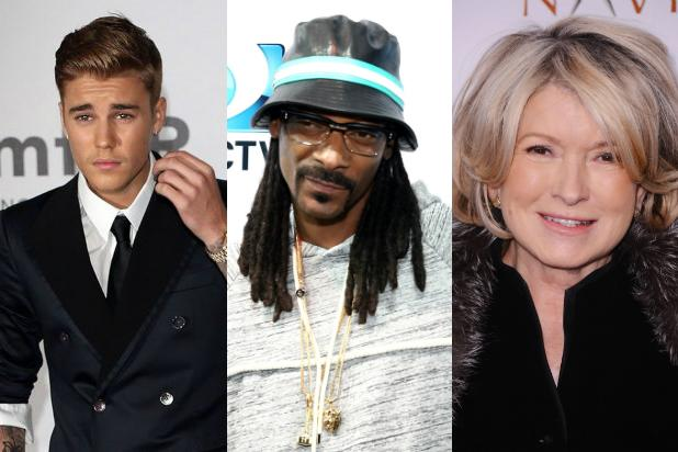 Justin Bieber Comedy Central Roast Lineup Includes Snoop Dogg, Martha Stewart
