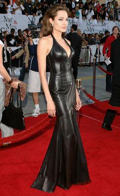 Angelina Jolie at the Los Angeles premiere of 20th Century Fox's Mr. & Mrs. Smith