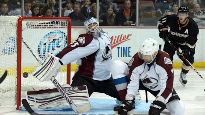 NHL: Colorado Avalanche at the Anaheim Ducks