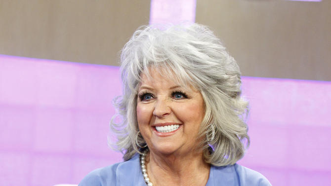 """FILE - In this Jan. 17, 2012 file image originally released by NBC, celebrity chef and TV personality Paula Deen appears on the """"Today"""" show to discuss her diabetes in New York. Deen was a no-show Friday, June 21, 2013, at the """"Today"""" show, where she was scheduled to appear to answer questions about past use of racial slurs. (AP Photo/NBC, Peter Kramer, file)"""