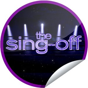 'The Sing-Off' sticker