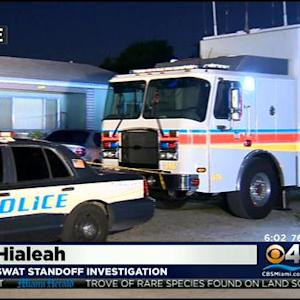 Neighbors Concerned After Police Standoff In Hialeah