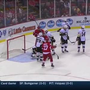 Pittsburgh Penguins at Detroit Red Wings - 10/01/2014