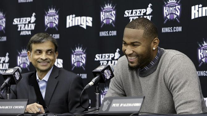 Kings sign DeMarcus Cousins to 4-year extension