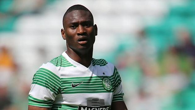 Amido Balde joined Celtic from Vitoria Guimaraes in the summer