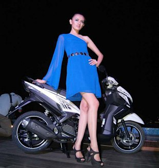 Model baru matic Yamaha