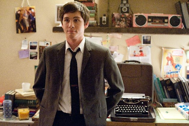 This image released by Summit Entertainment shows Logan Lerman in a scene from &quot;The Perks of Being a Wallflower.&quot; (AP Photo/Summit Entertainment, John Bramley)