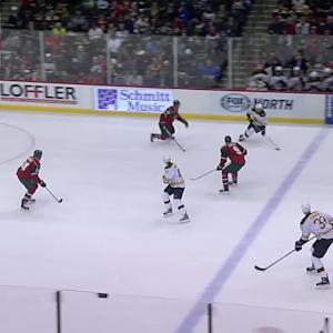 Kuemper's save on Chara