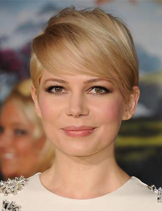 Round Face: Pixie With Wispy Bangs