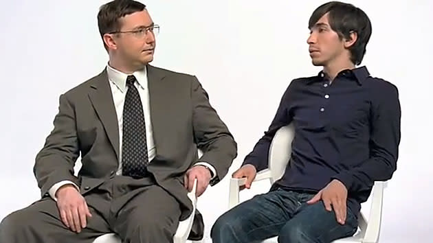 John Hodgman and Justin Long