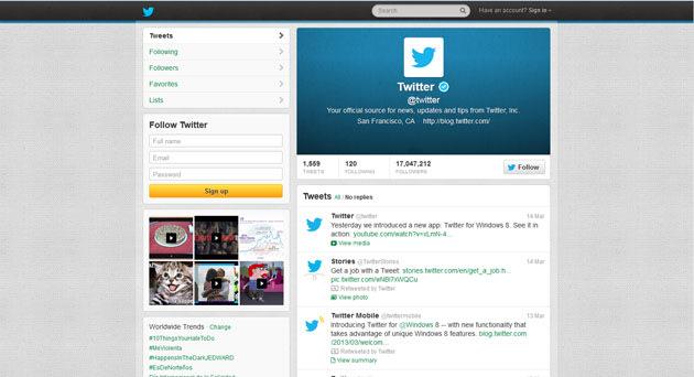 Twitter Yahoo News