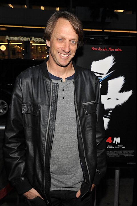 Scream 4 LA Premiere 2011 Tony Hawk