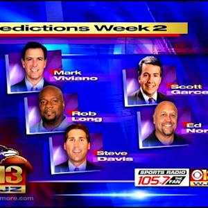Local Expert Predictions: Ravens v. Steelers