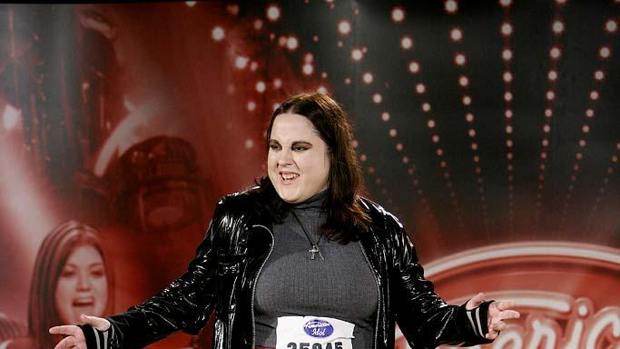 Omaha Contestant: Sarah Whitaker, 25, Council Bluffs, IA auditioning on the 7th season of American Idol.