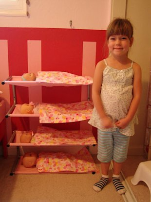 Lustifik Shoe Rack to Baby Doll Bunks