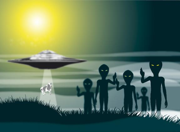 UFOs Over Texas: Unidentified Floating Fireballs?