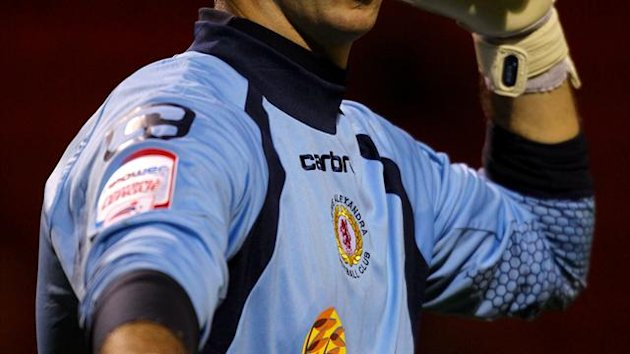 Goalkeeper Alan Martin, pictured, has supplanted Steve Phillips as Crewe's first-choice stopper