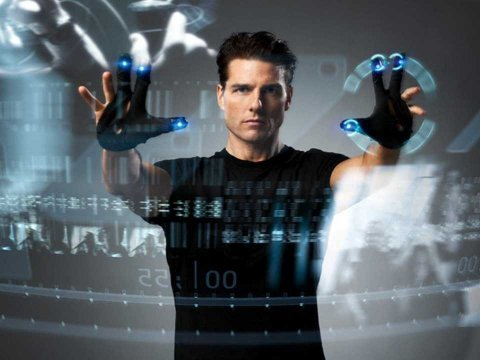 Minority Report computer screen