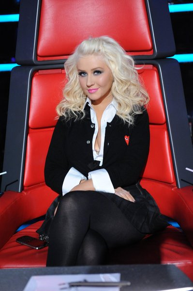 Christina Aguilera en &amp;#39;The Voice&amp;#39;