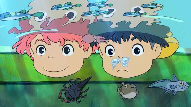 Ponyo Production Stills Walt Disney 2009