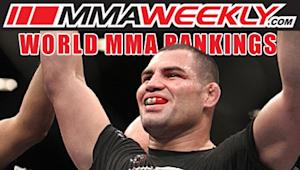 MMA Top 10 Rankings: Cain Velasquez Storms Back to No. 1 Heavyweight Ranking