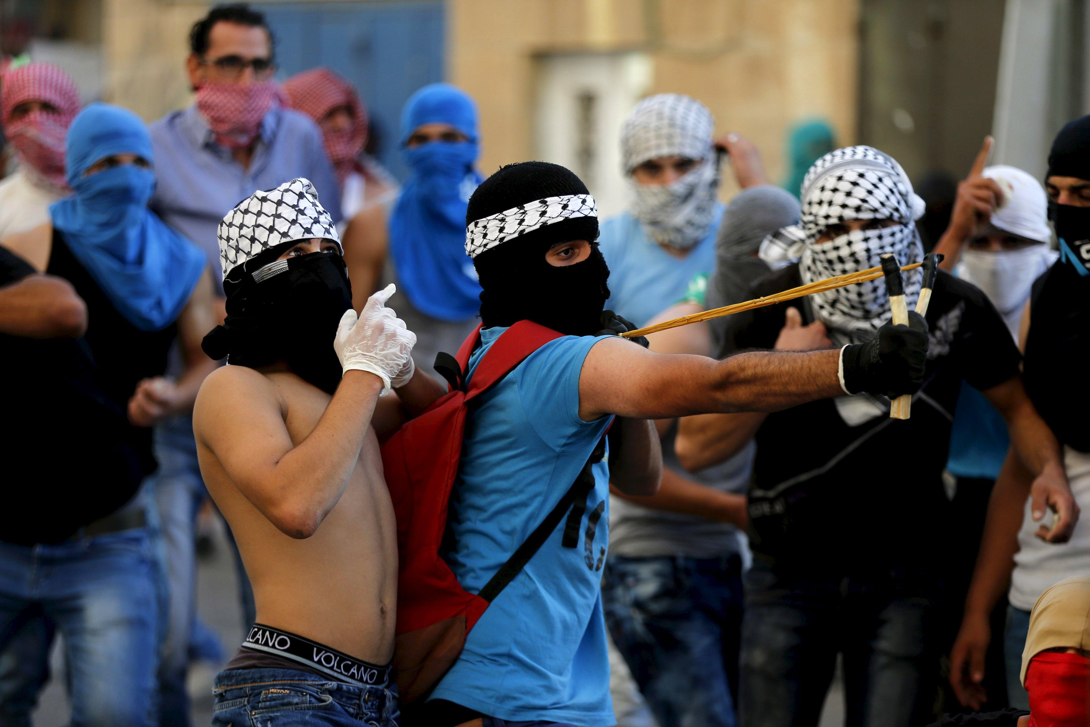 Palestinian protests amid deadly attacks against Israelis