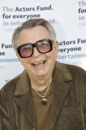 This 2010 image provided by The Actors Fund shows Dale Olson at the 2010 Actor Fund Tony Awards party in Los Angeles. Olson, a veteran publicist who represented such Hollywood legends as Marilyn Monroe, Gene Kelly and Alfred Hitchcock, and such current A-listers as Clint Eastwood, Shirley MacClaine and Steven Spielberg, died Thursday, Aug. 9, 2012 after a long battle with cancer. He was 78. (AP Photo/Courtesy of The Actors Fund, Bill Dow)