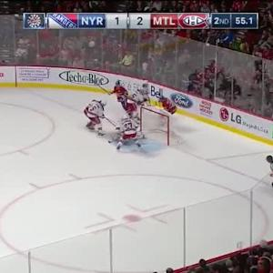 Henrik Lundqvist Save on Pierre-Alexandre Parenteau (19:04/2nd)