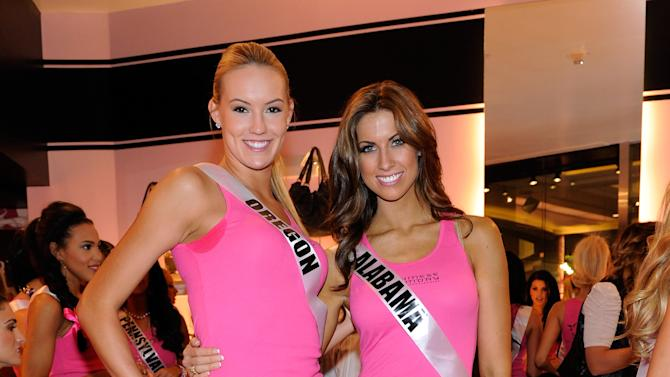 Chinese Laundry Hosts The Miss USA 2012 Wedge Run With Dania Ramirez