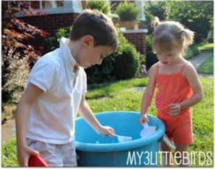 Beat the heat with water play