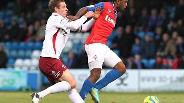 Myles Weston, right, is happy to be playing at Gillingham