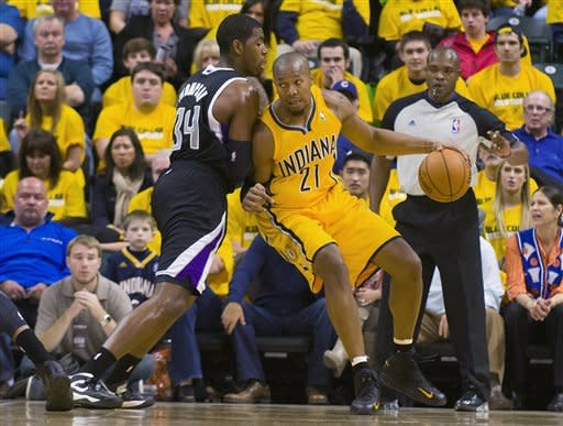 Pacers defense stymies Kings in 2 OT, 106-98