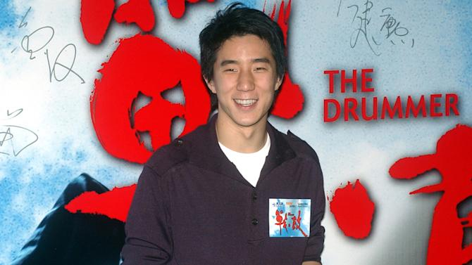 """FILE - In this Oct. 8, 2007 file photo, Hong Kong actor Jaycee Chan poses for photo upon arrival for """"The Drummer"""" premiere at Hong Kong Convention & Exhibition Centre. Hong Kong action superstar Jackie Chan's actor-son Jaycee Chan has been detained in Beijing on drug-related charges, the latest high-profile celebrity to be ensnared in one of China's biggest anti-drug crackdowns in two decades. Jaycee Chan, 32, was detained last Thursday, Aug. 14, 2014, together with the 23-year-old Taiwanese movie star Kai Ko, Beijing police said late Monday, Aug. 18, on their official microblog, identifying them only by their surnames, ages and nationalities. It was unclear why the detentions were announced several days later.( AP Photo/Lo Sai Hung, File )"""