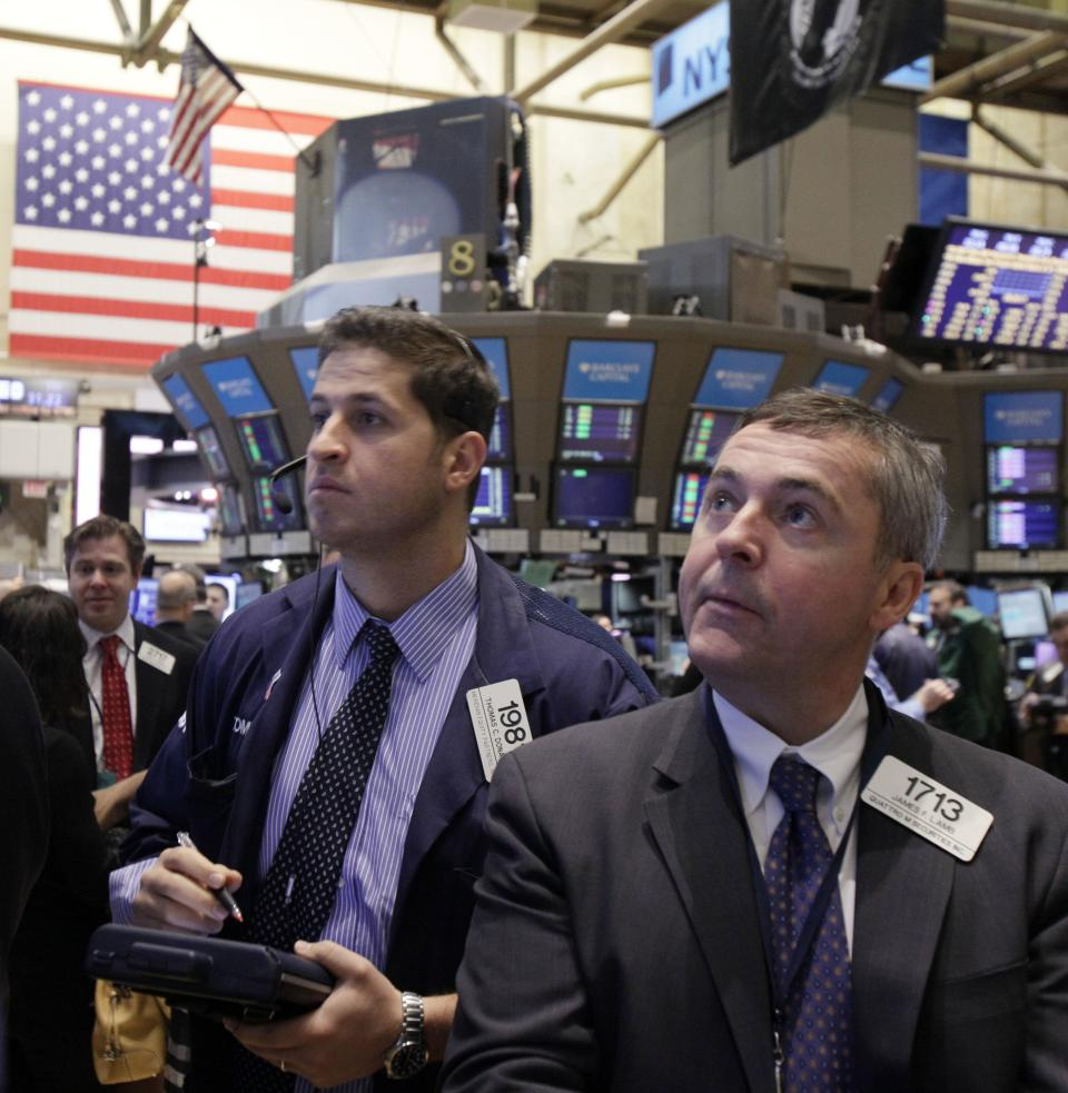 Big gain for stocks after Bernanke remarks