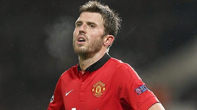 Manchester United midfielder Michael Carrick (PA Photos)