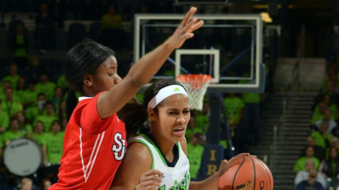 NCAA Womens Basketball: St. John's at Notre Dame