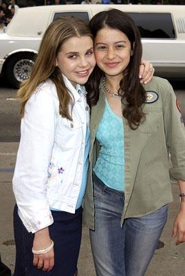 Premiere: Mae Whitman and Alia Shawkat at the Hollywood premiere of Scooby Doo - 6/8/2002